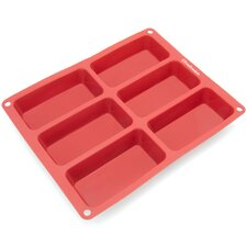 6 Cavity Mini Silicone Mold Pan