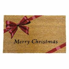 A Gift! Merry Christmas Doormat