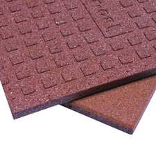 Eco-Sport Interlocking Flooring Rubber Tile (Set of 18)