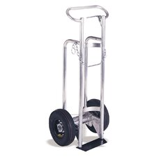 "Heavy Duty Cylinder Aluminum Frame Hand Truck for 9"" Cylinders"