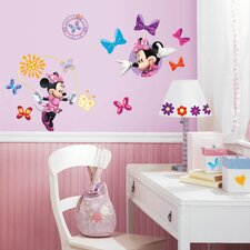 Disney Mickey and Friends Minnie Bow-tique Room Makeover Wall Decal