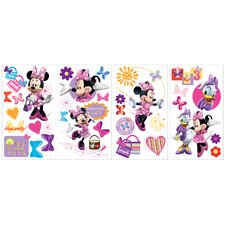 "Disney ""Mickey Friends"" Minnie Bow-tique Cutout Wall Decal"