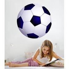 Soccer Ball I Cutout Wall Decal
