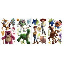 """Disney """"Toy Story 3"""" Cutout Wall Decal"""