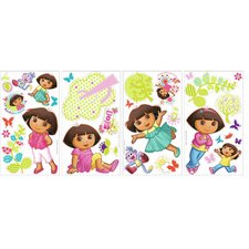 Dora the Explorer Cutout Wall Decal