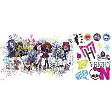 Mattel's Monster High Giant Wall Decal