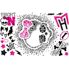 Mattels Monster High Heart Skullette Wall Decal