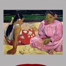 Gauguin Women of Tahiti on The Beach (1891) Wall Mural