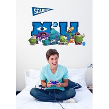 Disney Monsters University Movie Giant Character Collage Wall Decal