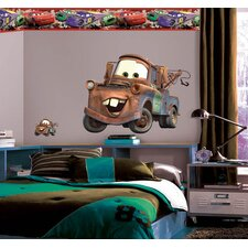 Disney Cars 2 Mater Room Makeover Wall Decal