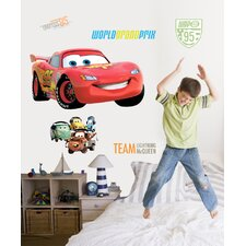 Disney Cars 2 Cutout Wall Decal