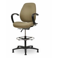 Contour II Adjustable Drafting Chair