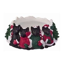 Black Cat Pet Candle Topper