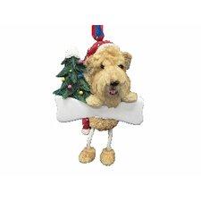 Soft Coated Wheaten Terrier Dangling Dog Ornament (Set of 2)
