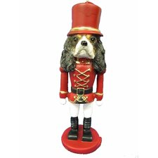 King Charles Tri-Color Soldier Dogs Ornament