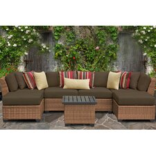 Laguna 7 Piece Seating Group with Cushion