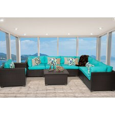 Belle 8 Piece Seating Group with Cushion