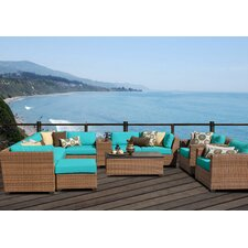 Laguna 12 Piece Seating Group with Cushion