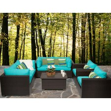 Belle 7 Piece Deep Seating Group with Cushion