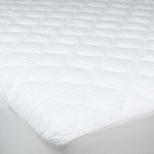 250 Threat Count Cotton Damask Stripe Twin XL Mattress Pad