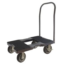 """40.5"""" x 20.5"""" x 33.5"""" All-Terrain Push Cart Dolly with Optional E-Strap Attachment"""