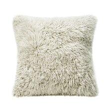 Curly Sheepskin Throw Pillow