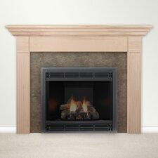 Fireplace Mantel Surround with Shelf