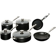 Verona 10-Piece Aluminum Non-Stick Cookware Set