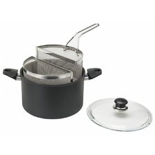 Gli Speciali Dual Pasta Pot with Lid