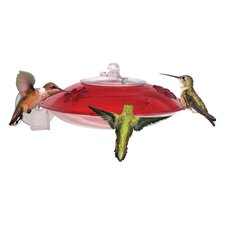 Window Hummer 3 Hummingbird Window Feeder