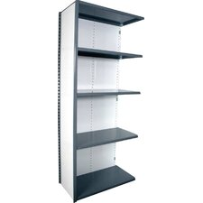 "V-Grip 84"" Shelving Unit - Closed Add On - with 5 Shelves"