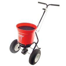 Commercial Spreader Push with Pneumatic Tires