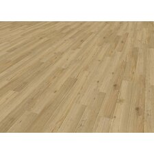 """Home Creation Clic 6.9"""" x 39.3"""" Luxury Vinyl Plank in Sycamore"""