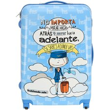 """Know Where You Are Going 30"""" Spinner Suitcase"""
