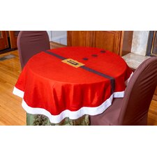 "54"" Santa Claus Round Table Cloth Cover"