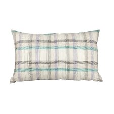 Delano Décor Multi-Plaid Cotton Lumbar Pillow