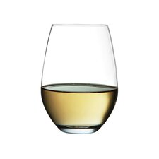 Perfection Stemless White Wine Glass