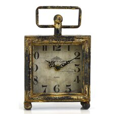 Working Vintage Square Clock
