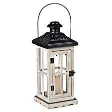 Wood and Glass Lantern