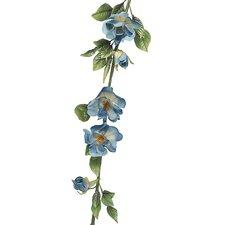 Artificial Rose of Sharon Polysilk Flower Garland