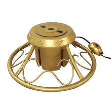 Heavy Duty Fancy Metal Rotating Artificial Christmas Tree Stand