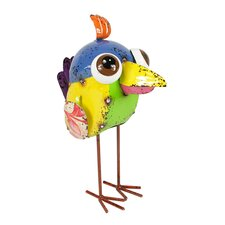 Colorful SpeckMetal Wide Eye Baby Bird Figure