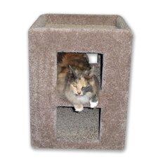 """21"""" Fat Cat Kitty Cube Cat Condo"""