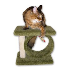 """12"""" Kitty Carnival Cat Condo"""