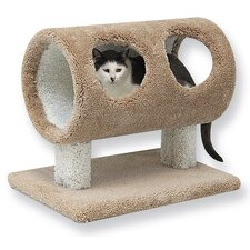 "20"" Tree Trunk Cat Condo"