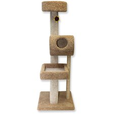 "68"" Deluxe Kitty Suite Cat Tree"