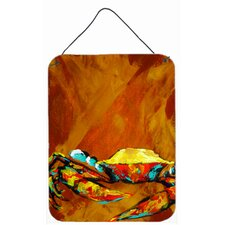 Caramel Coated Crab Hanging Painting Print Plaque