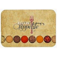 Bon Appetite and Spices Kitchen/Bath Mat