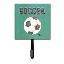 Soccer Leash Holder and Wall Hook