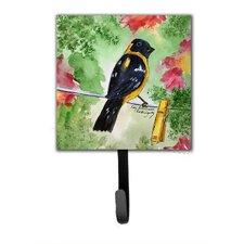 Black Headed Grosbeak Leash Holder and Key Hook